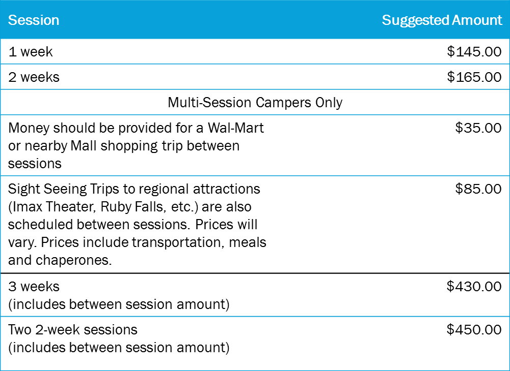 Spending Account: Suggested Amount