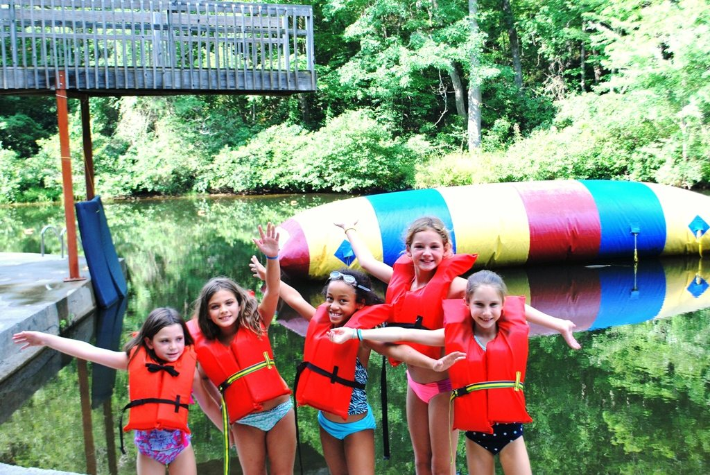 Our Camp: Riverview River Water Blob