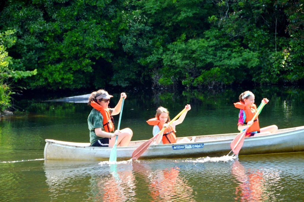 Canoeing at Riverview