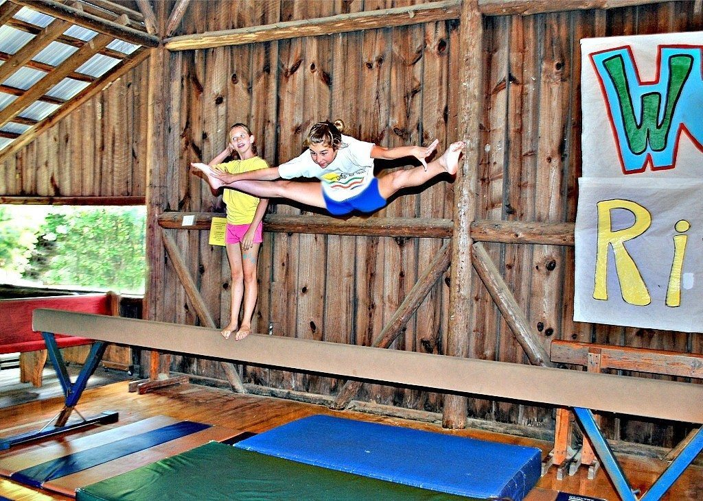 Gymnastics Activities at Riverview